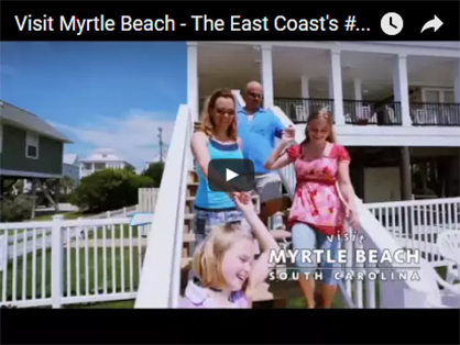 Video about visting Myrtle beach