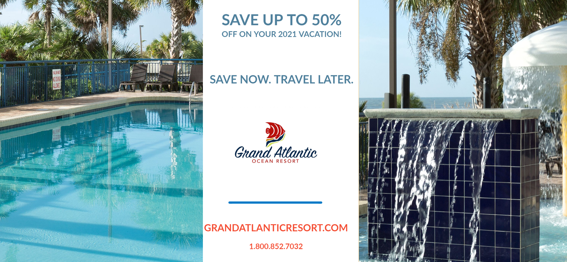 Save now. Travel Later