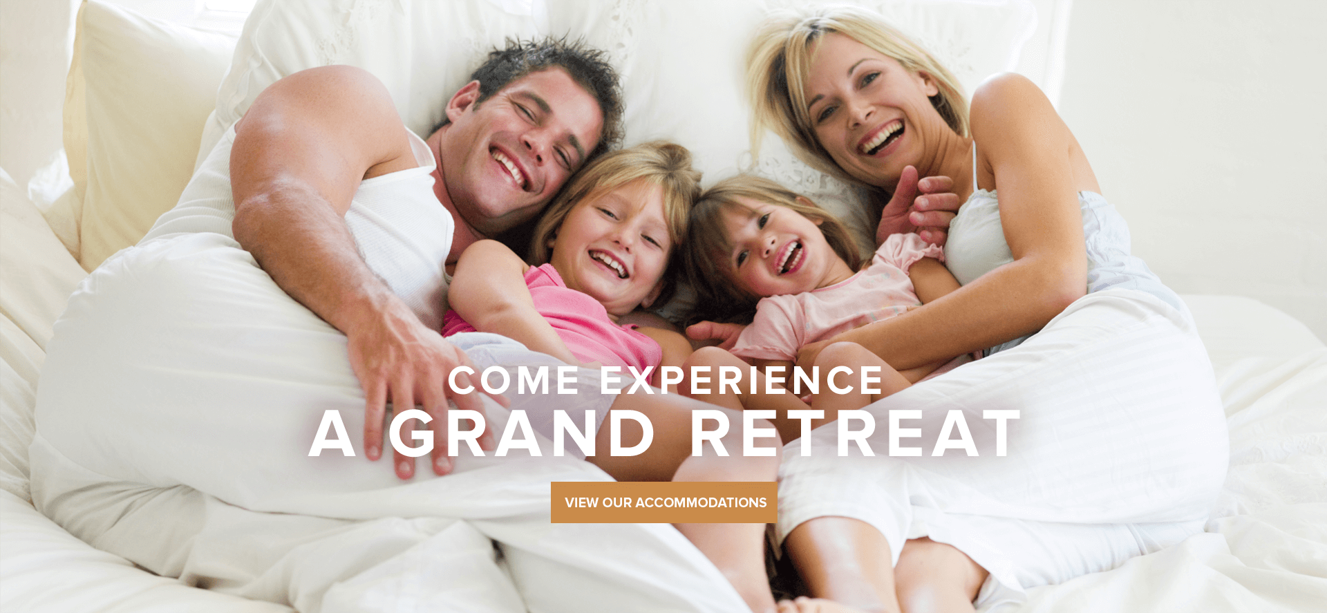 Come experience a grand retreat