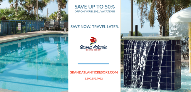 Save up to 50%. Save Now. Travel later.