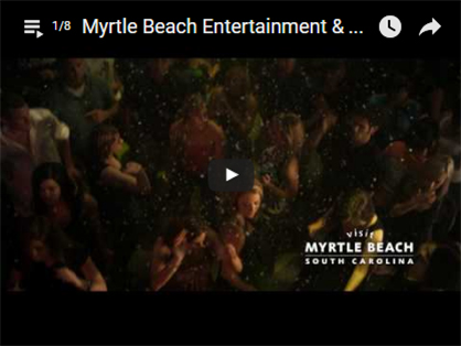 Video about Myrtle beach entertainment and night life