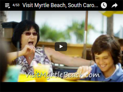 Video about visiting Myrtle Beach